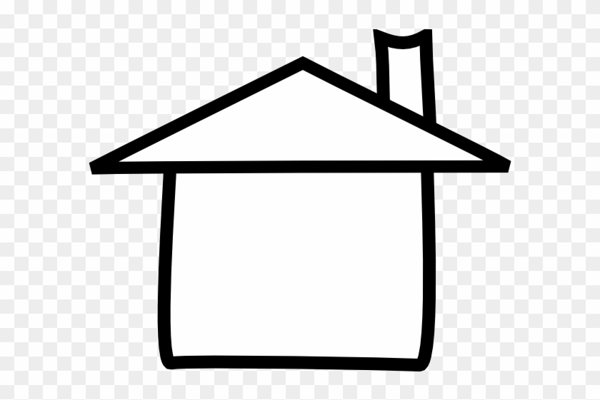 House Black And White Adobe House Clipart Black And - House Black And White Outline #4797