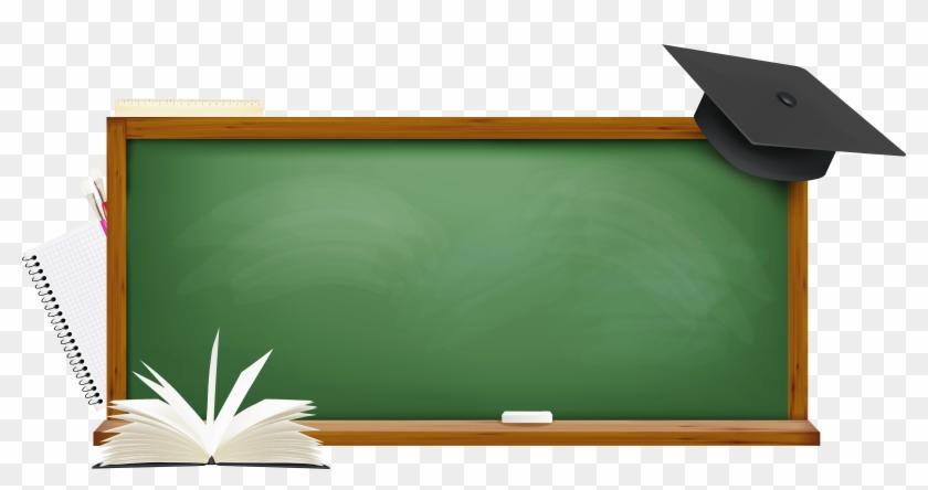 Green School Board Png Picture - School Board #4860