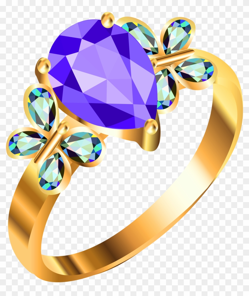 Wedding Ring Clip Art Pictures Free Clipart Images - Jewellery Clipart #4886