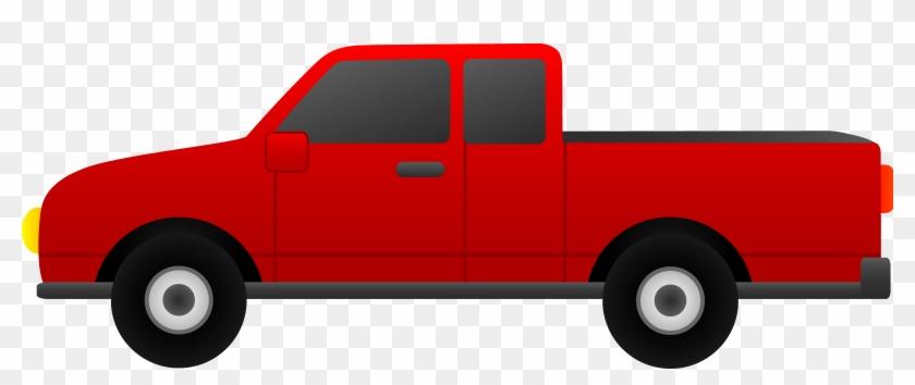 Clipart Info - Pick Up Truck Clip Art #4853