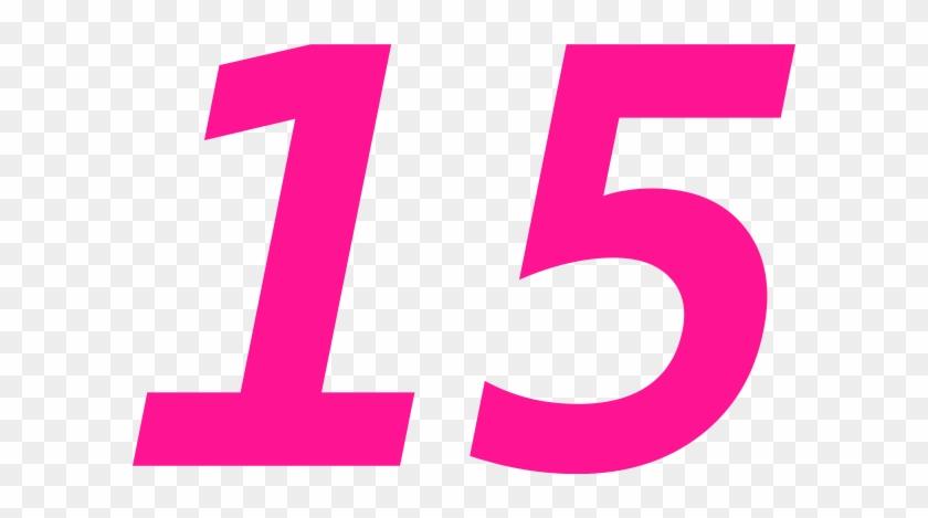 Fifteen 15 Clip Art At Clker - Number 15 Clip Art #4814