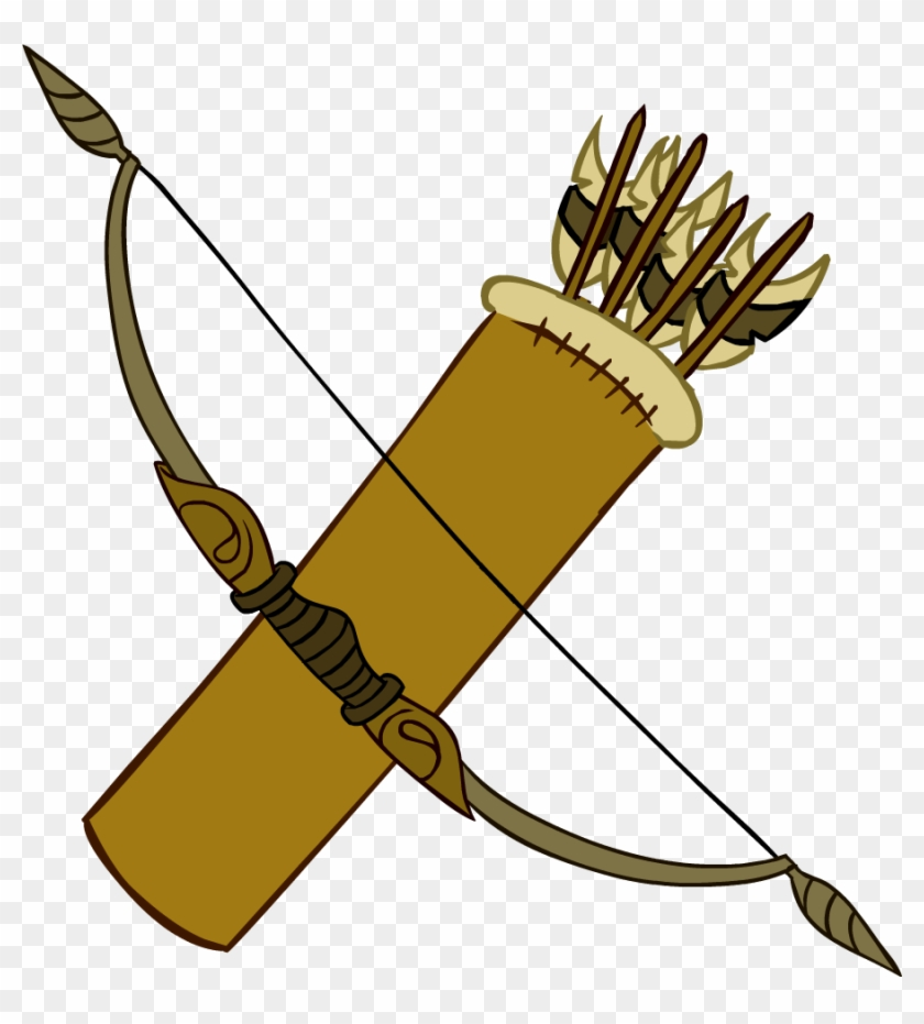 Indians Clipart Bow And Arrow - Bow And Arrows Clipart #4868