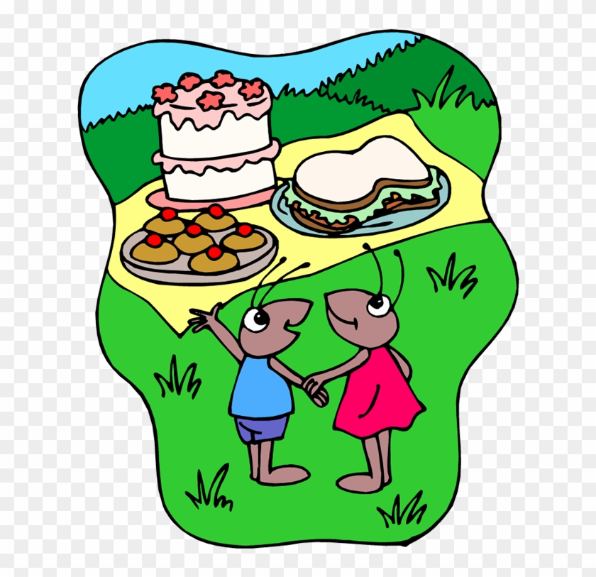 Free Picnic Clipart - Spontaneously Clipart #4916