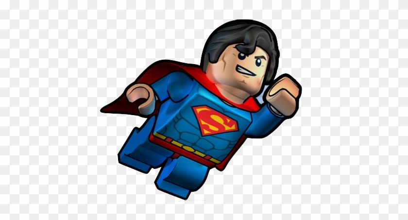 Lego Clipart Superman - Lego Super Man Png #4925