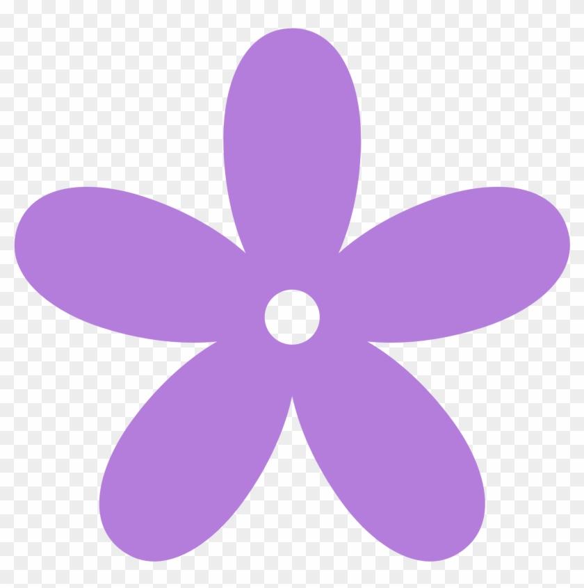 Lavender Flower Clip Art - Lavender Flower Clip Art #4931