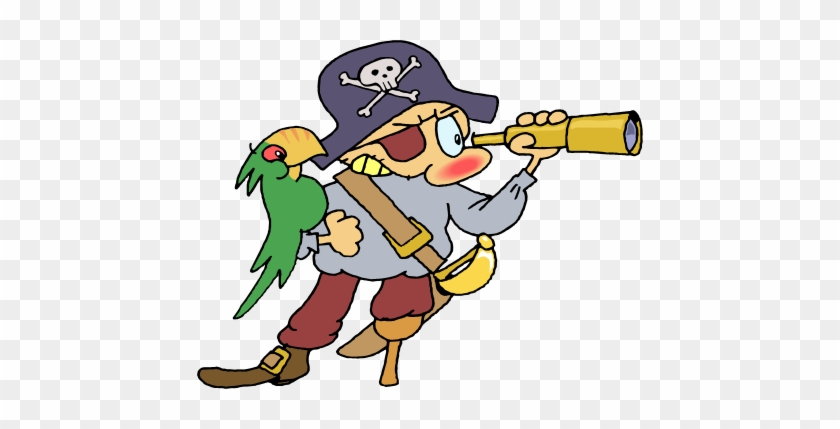 Pirate Clip Art Animated Free Clipart Images - Pirate Clip Art #4909