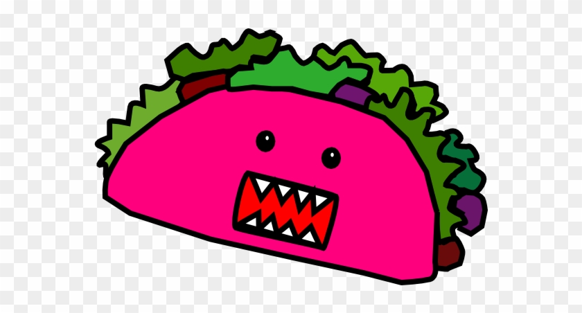 Taco Clip Art Clipart - Cartoon Taco #4918