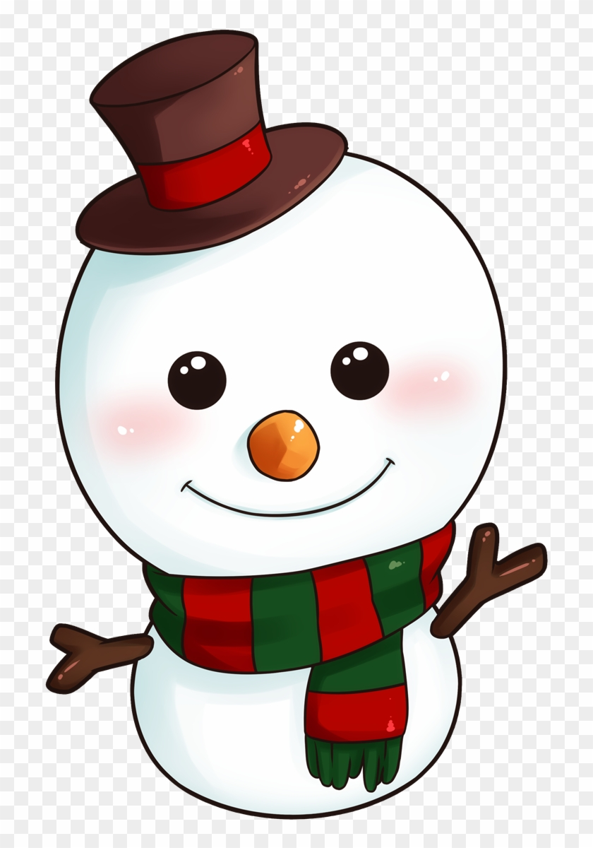 Clipart Christmas Snowman 8 Happy New Year Greetings - Cute Snowman Clipart #4908
