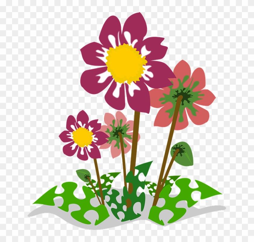 Clip Art Flor Flora Flower Nature Plant - Fleur Clipart #4979