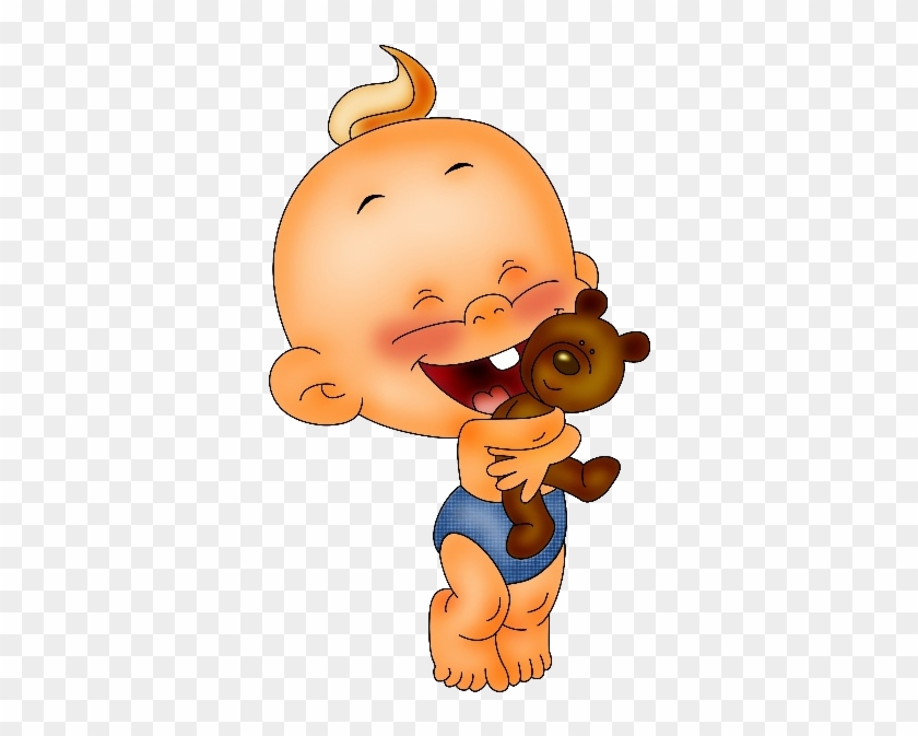 Baby Boy Cartoon Party Clip Art Images - Funny Babies Clipart #5002