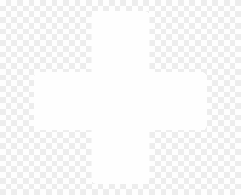 White Cross Clip Art At Clker - White Cross Logo Png #4973