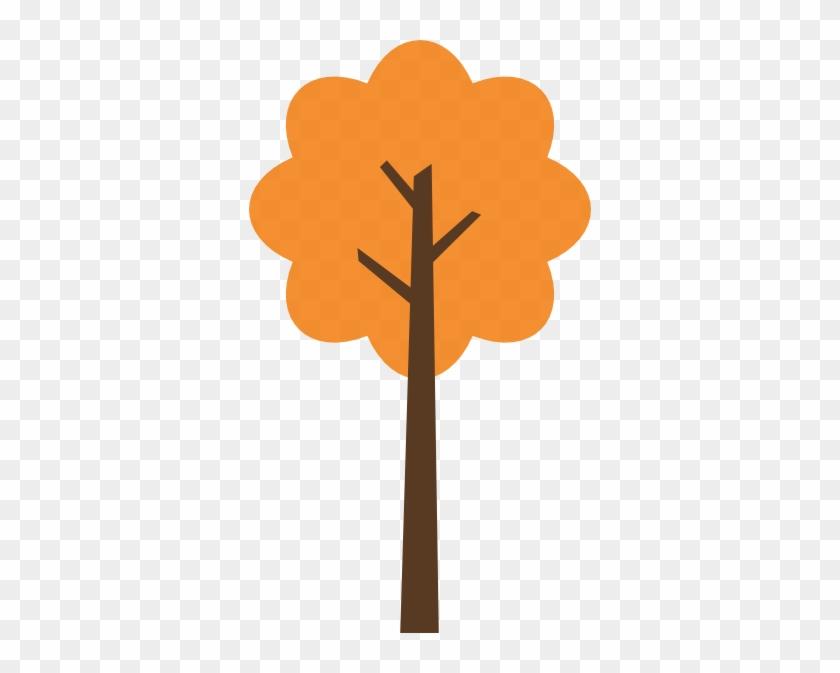 Fall Tree 1 Clip Art - Clip Art #5088