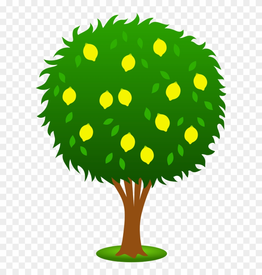 Trees Clipart Free - Lemon Tree Clipart #5122