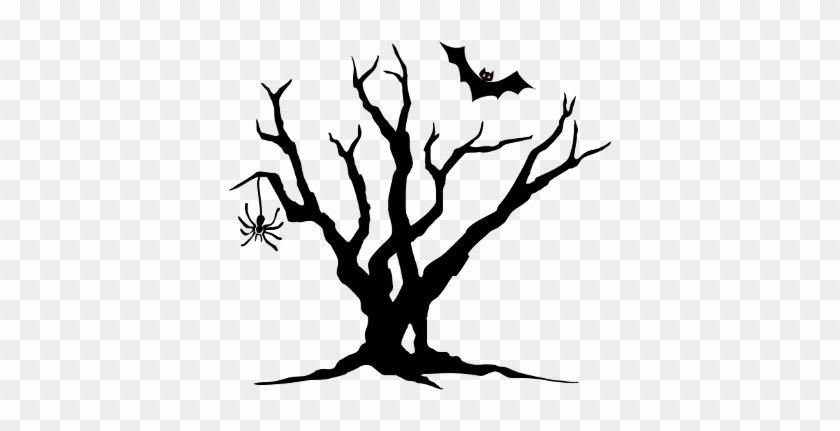 Wallpaper Scary Tree Clipart F1qtud Clipart - Spooky Tree Clipart #5173