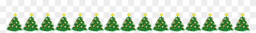 Christmas Tree Border - Christmas Tree Border #519