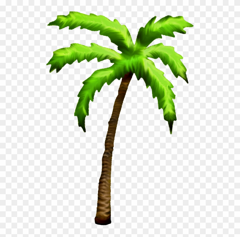Palm Tree Clipart Tropical Coconut - Palm Tree Clipart Tropical Coconut #530