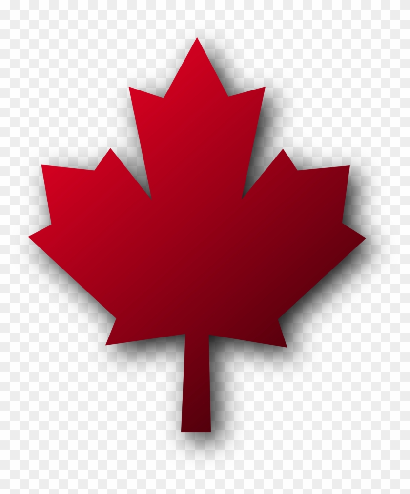 Maple Leaf Clipart Black And White - Toronto Pearson International Airport #5232