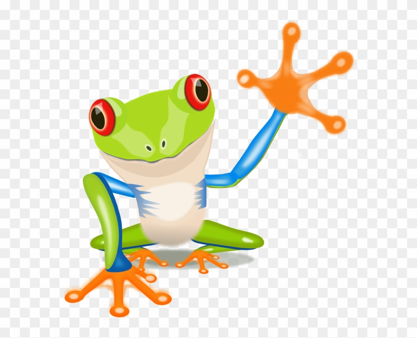 Jungle Frog Cliparts - Tree Frog Clipart #5251