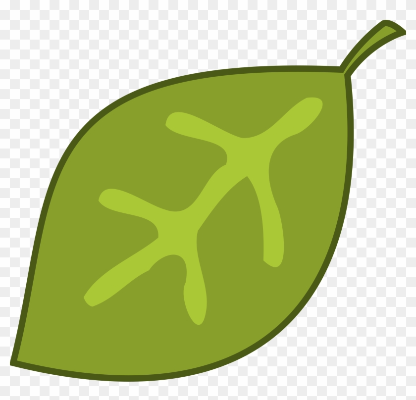Green Leaves Border Clip Art - Jungle Leaf Clipart #5263