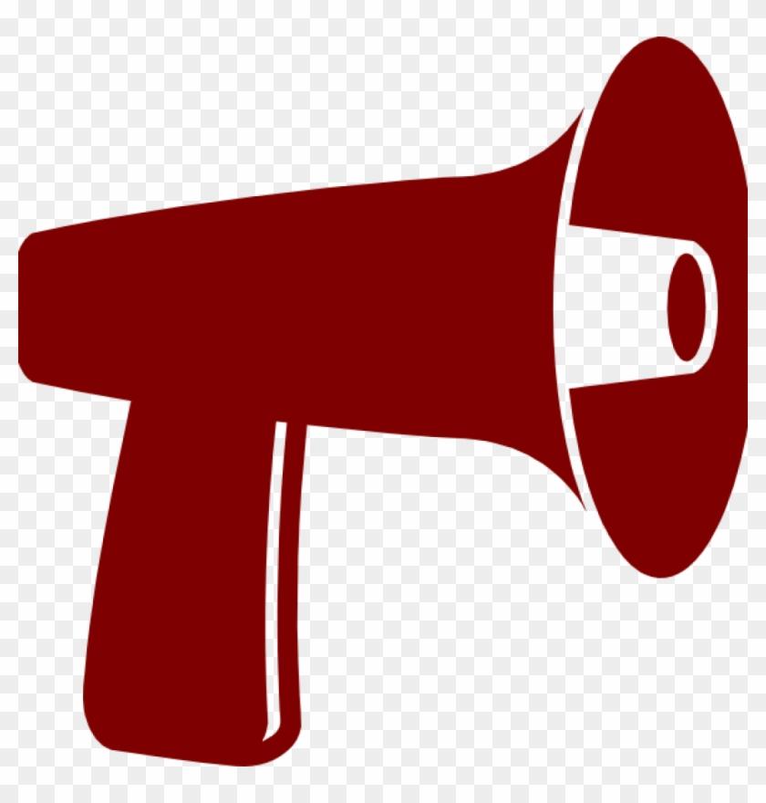 Megaphone Clipart Red Megaphone Clip Art At Clker Vector - Megaphone Clipart #5270