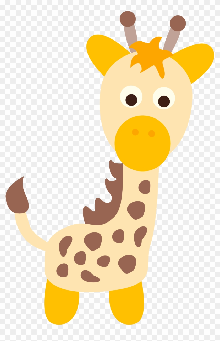 Giraffe Art, Giraffes, Clip Art, La Jungle, Bernardo, - Cafepress Personalized Giraffe First Birthday Baby #5311
