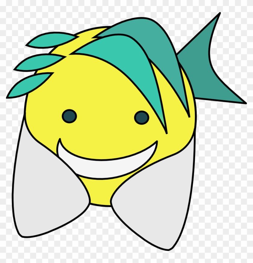 Fish 999px 116 - Happy Face Clip Art #5386