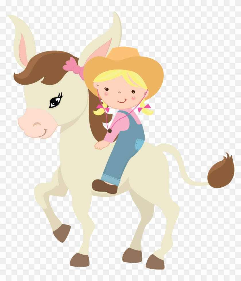 Cute Farm For Girls Clip Art - Farmgirl Clipart #5388
