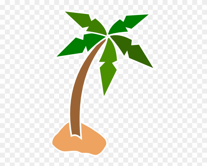 Coconut Tree Clipart Free Download Clip Art On - Cartoon Palm Tree Png #5398