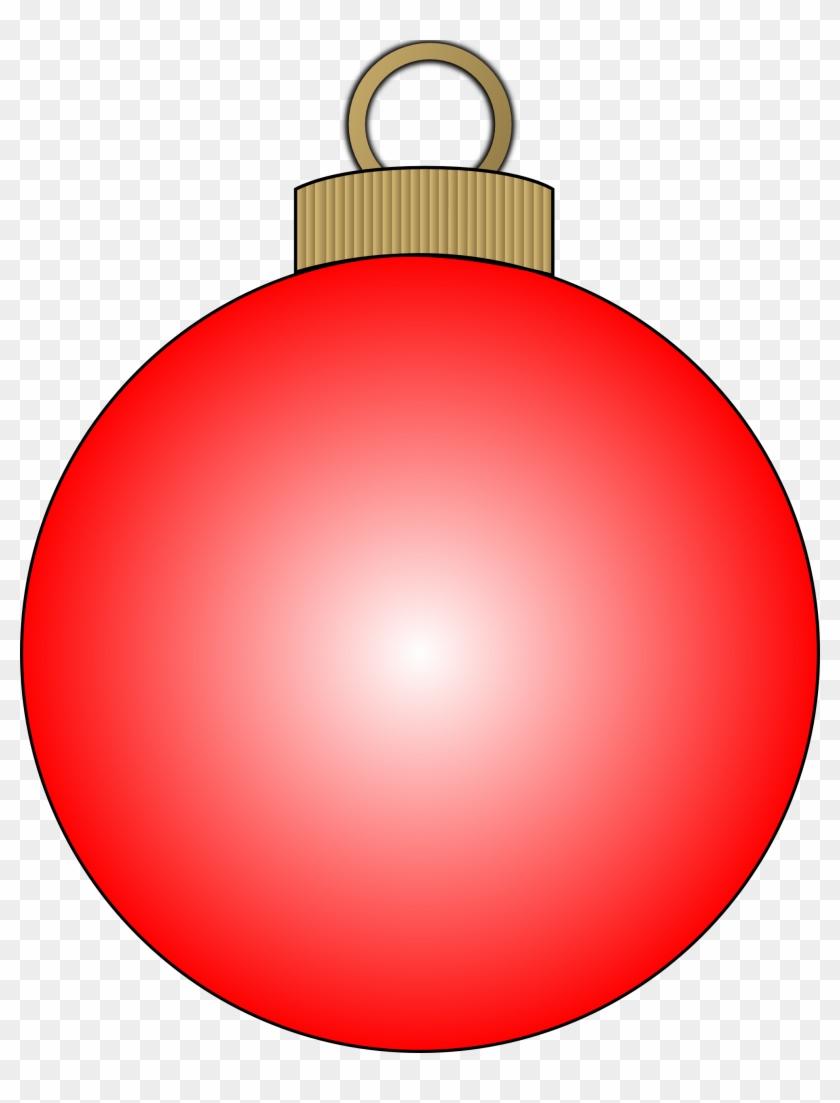 Clipart Christmas Bulb - Christmas Ball Clipart #5438