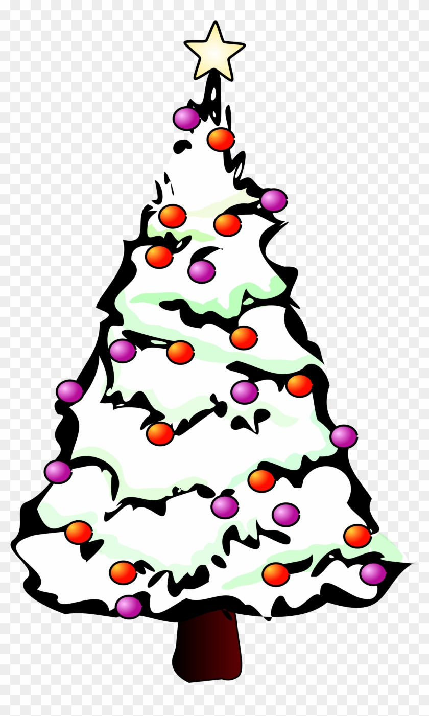 Christmas Tree Artwork Free Download Clip Art Clipart - Christmas Tree Clip Art #5456