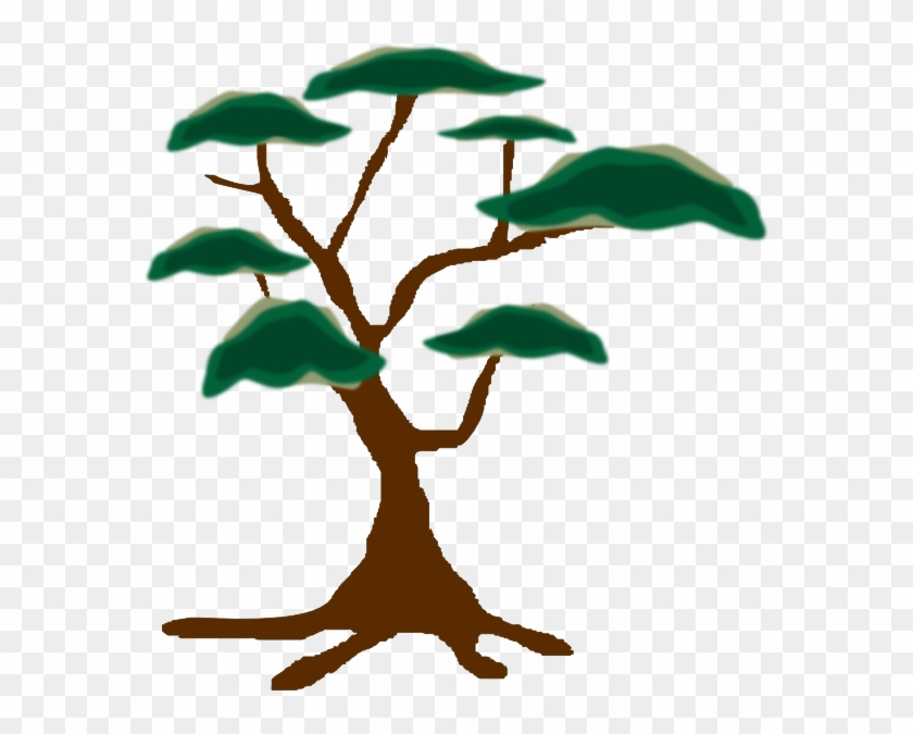 Plant Clipart Safari - Safari Trees Clip Art #5468