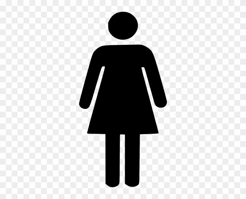 Women Clipart Woman Clip Art At Clker Vector Clip Art - Woman Bathroom Sign #5499