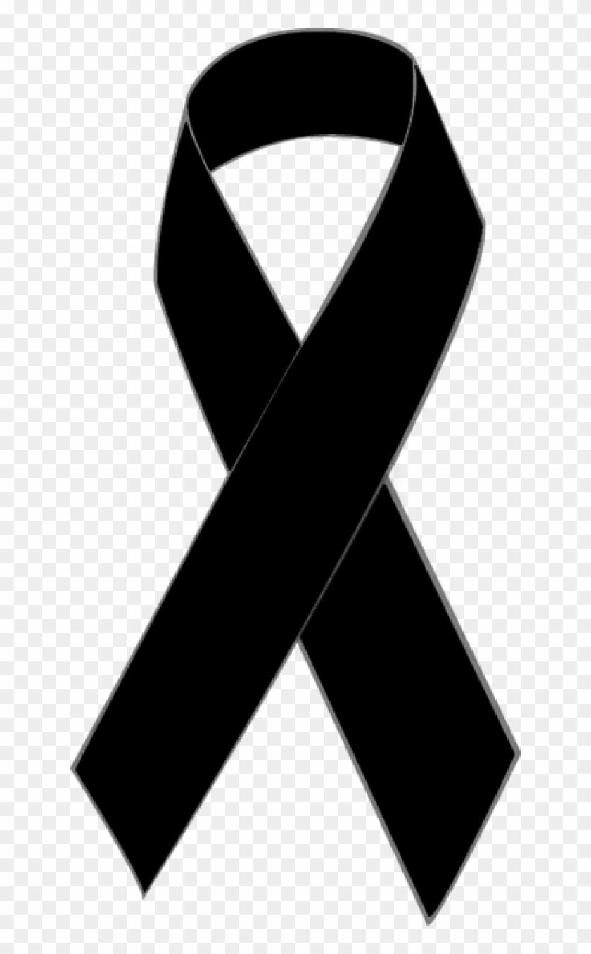 Black Awareness Ribbon Clip Art Black Breast Cancer Ribbon Free Transparent Png Clipart Images Download