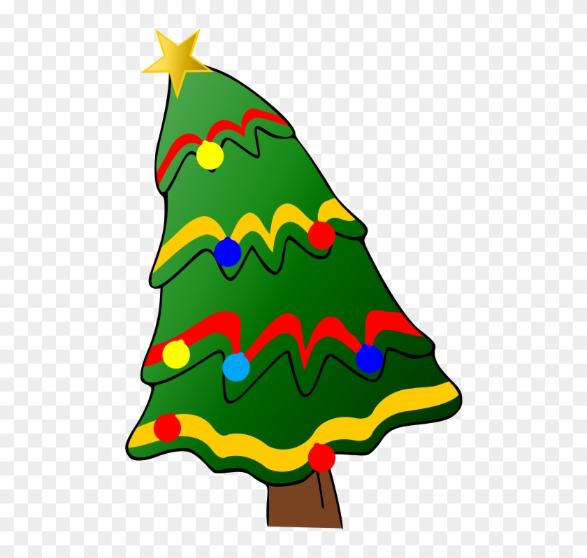 Christmas - Tree - With - Presents - Clipart - Christmas - Tree - With - Presents - Clipart #568