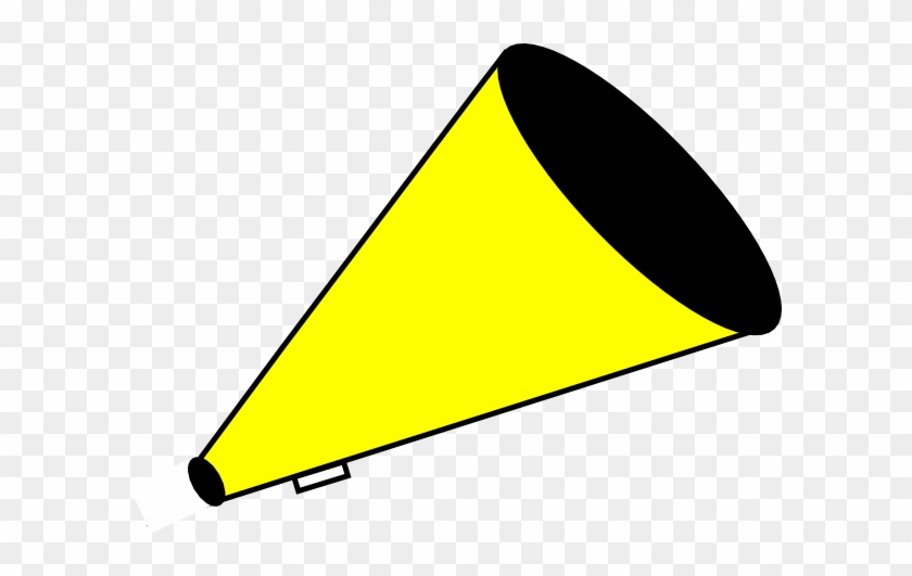 Yellow Megaphone Clipart #5546