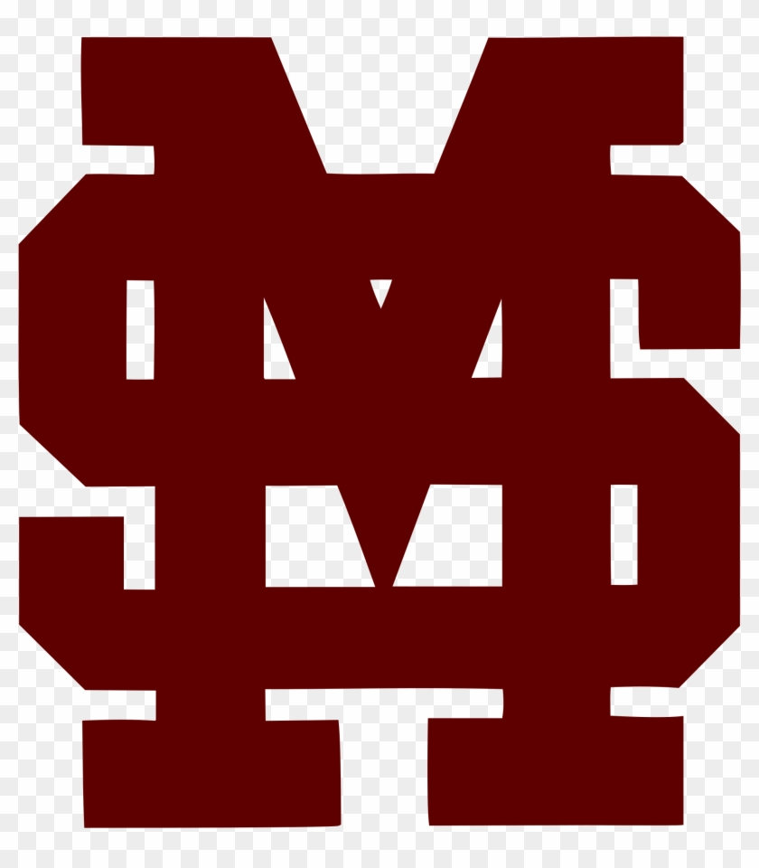 Mississippi State Bulldogs Baseball - Miss State Baseball Logo #5556