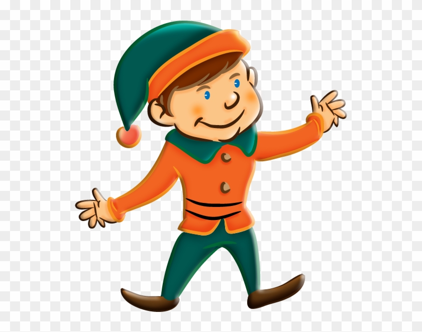 Christmas Elves On Christmas Elf And Clip Art Image - Clipart Picture Of Elf #5561