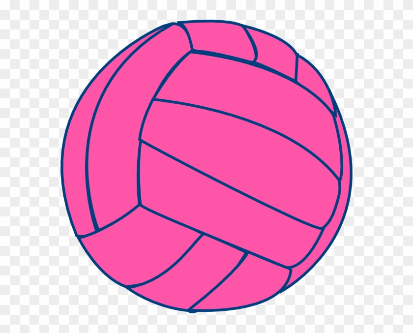 Pink Volleyball Transparent Background #5587