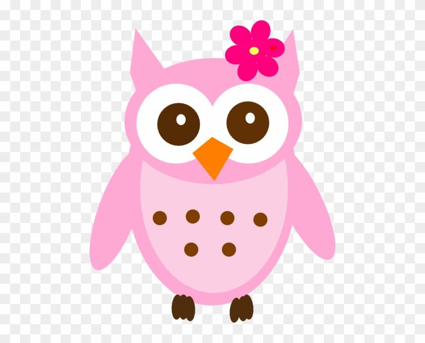 Pink Baby Owl Clip Art At Clker - Clip Art Baby Owl #5640
