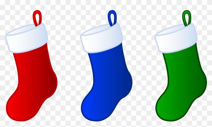 Stocking Clip Art - Christmas Stocking Clip Art #5663