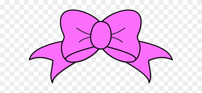 Bow Clip Art Vector Clip Art Free Image 7 - Pink Hairbow Clipart #5649