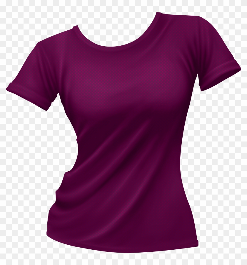 Female T Shirt Png Clip Art - Woman T Shirt Png #5688