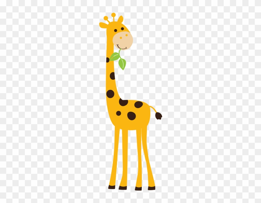 Baby Giraffe Clipart 4 Clip Art Baby Free Image - Animals And Tree Wall Sticker #5657
