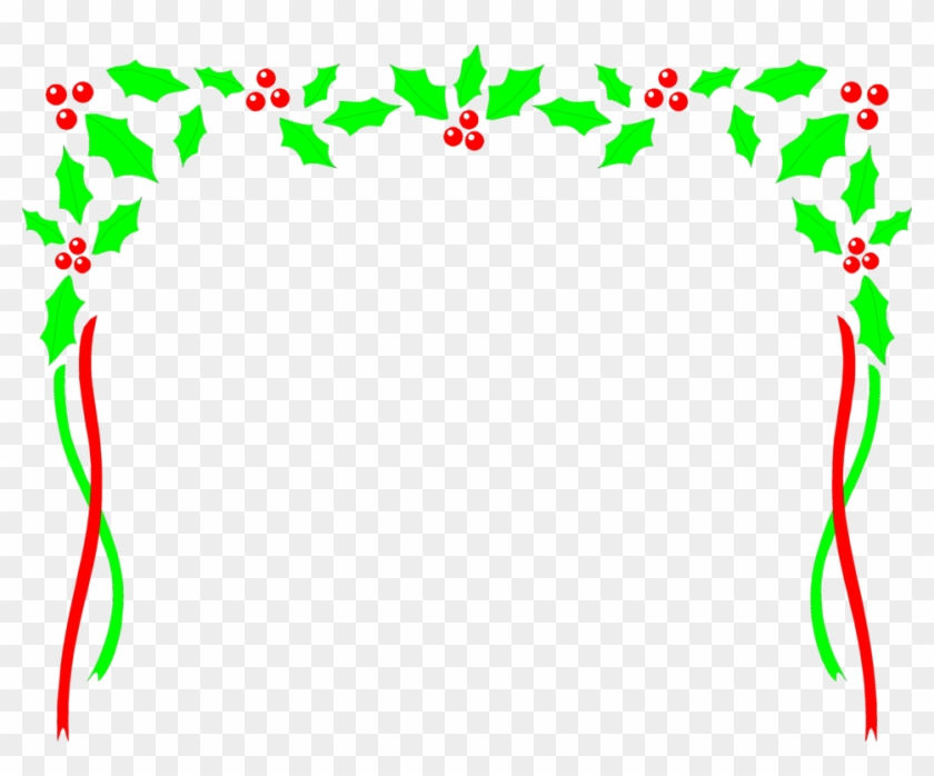 Free Christmas Borders Clipart The Cliparts - Free Clipart Christmas Frames And Borders #5665