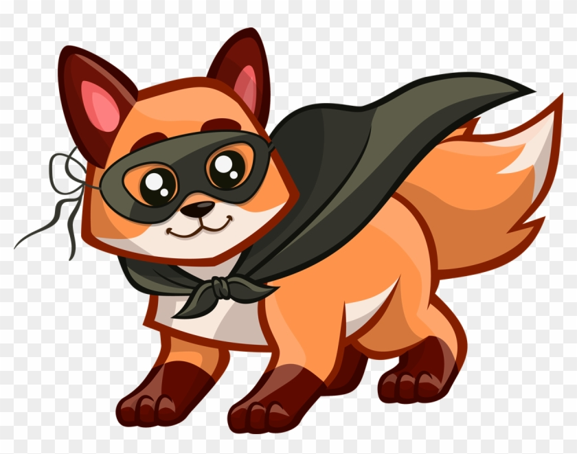 Cute Clipart Foxes #5677