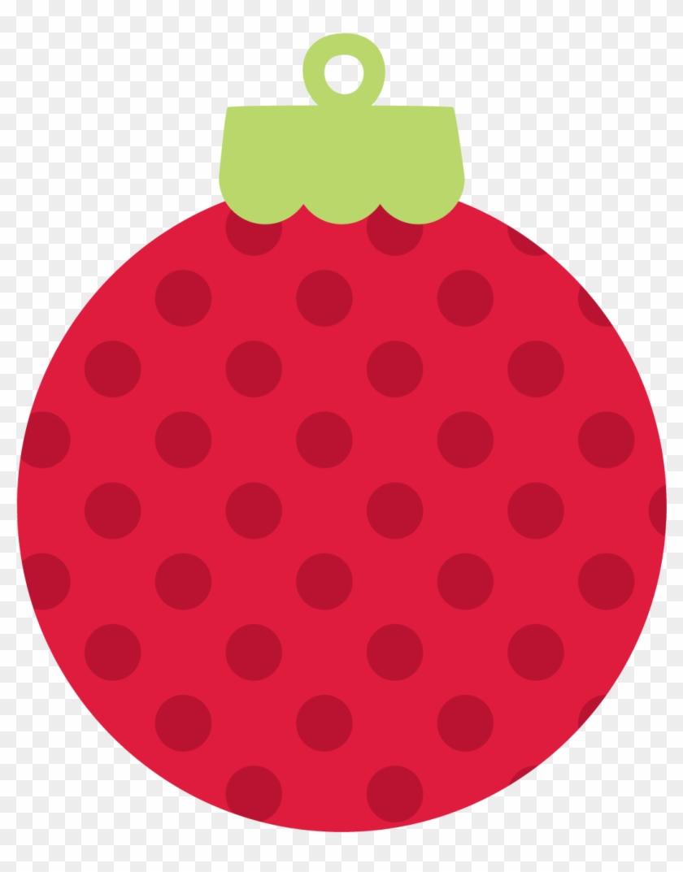 Photo By @daniellemoraesfalcao - Polka Dot Christmas Ornament Clipart #5719