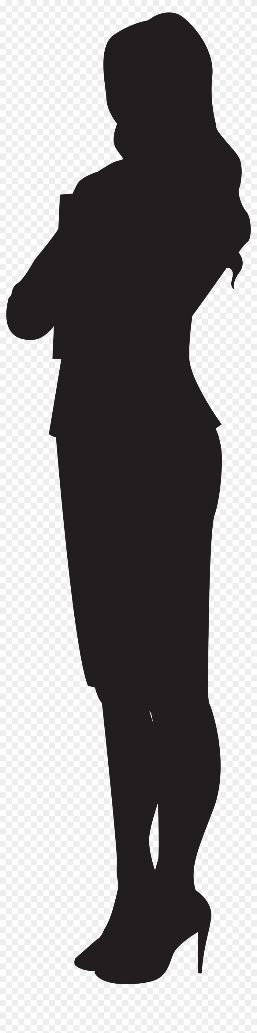 Woman Silhouette Png Clip Art - Woman Clip Art Png #5753