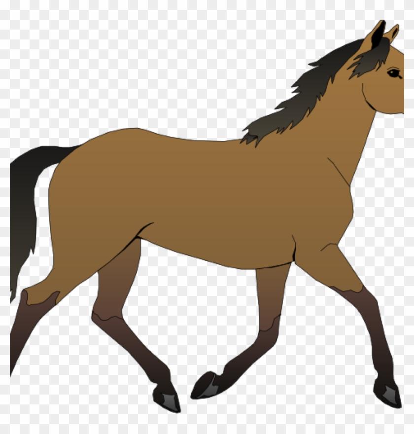 Free Horse Clipart Running Horse Clip Art At Clker Horse Cartoon