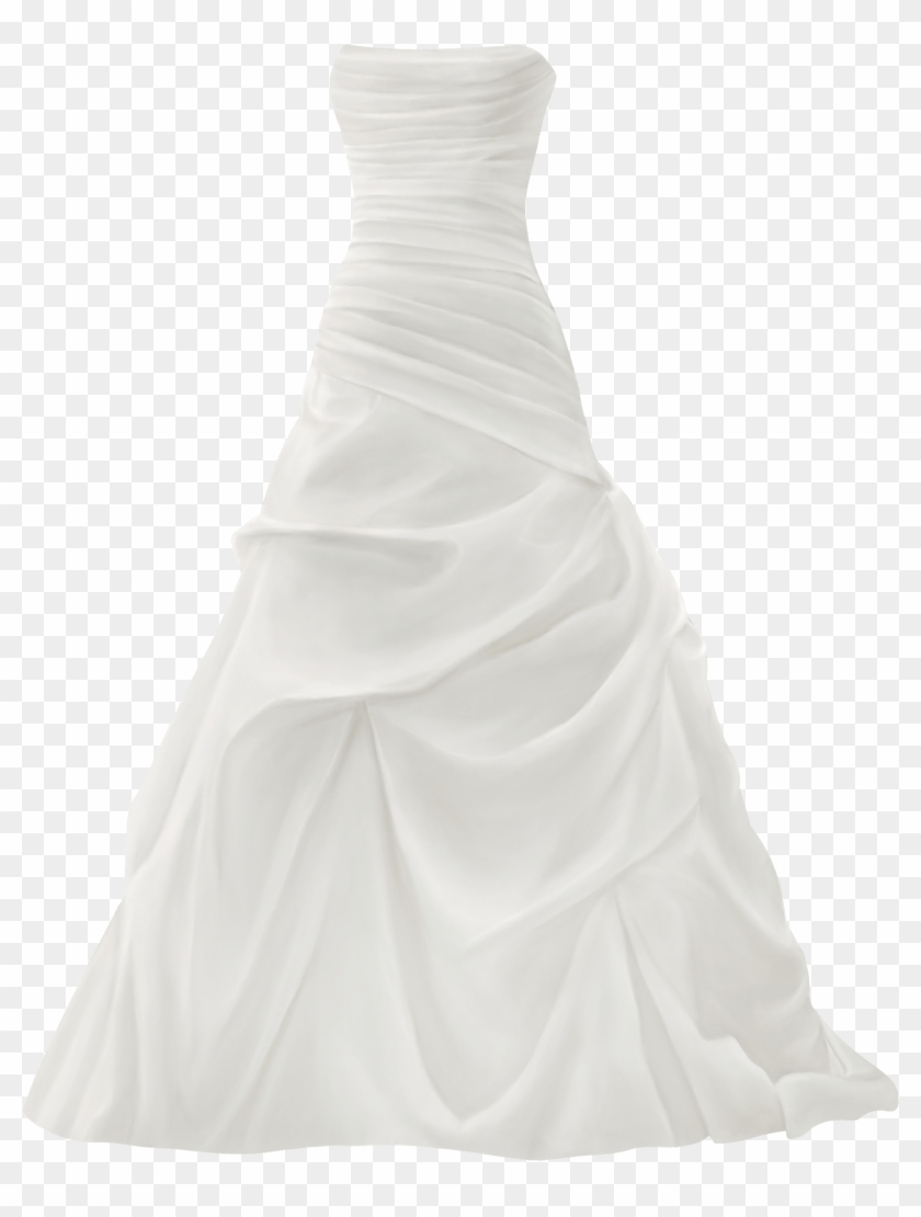 Gown Wedding Dress Png Clip Art - Wedding Gown Png #5769