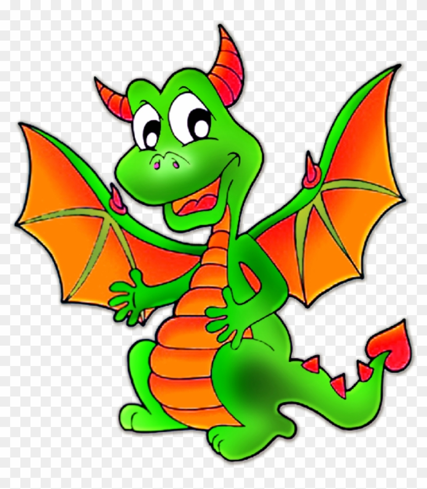 Dragon Clipart Cute Dragons Cartoon Clip Art Imagesall - Cartoon Images Of Dragon #5756